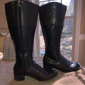 Aigner Boots (wide shaft)